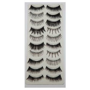 70 Pairs False Eyelashes Bundle Set - Includes 7 Different Styles $15.99