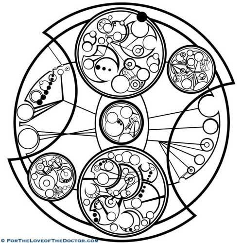 Gallifreyan Tattoo of Spinning Clockwise Quote http://fortheloveofthedoctor.com/gallifreyan-tattoo-of-spinning-clockwise-quote #doctorwho #doctorwhotattoo #gallifrey #gallifreyantattoo