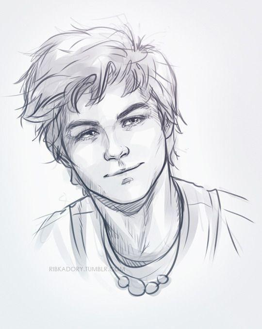 Drawings Of Cute Boys : drawings, Pattern, RibkaDory<, Drawing,, Cartoon, Artist