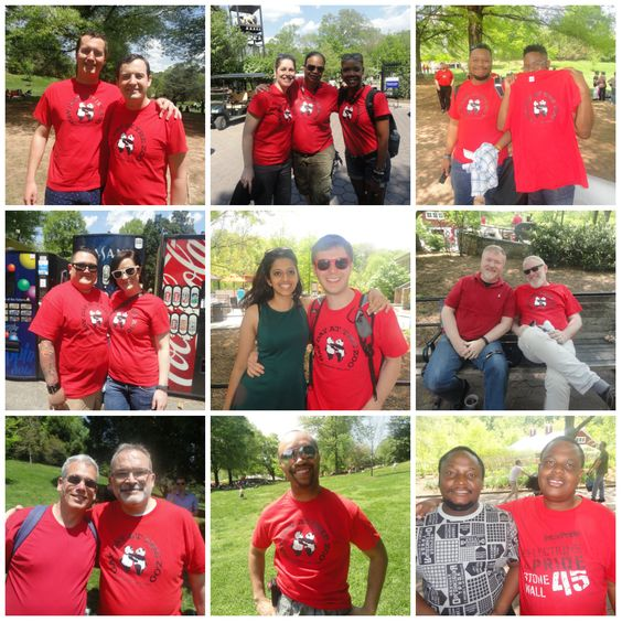 What a fun #gaydayatthezoo - thanks for joining us! See more pictures at fb.com/thedccenter #LGBT #DC #community