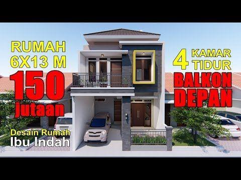 Renovasi Rumah Type 36 78 Jadi 2 Lantai 4 Kamar Tidur Youtube Renovasi Rumah Rumah Rumah Minimalis