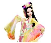 Ancient costume clothes doll The joint body toy Chang-Ngo doll