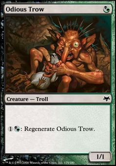 Odious Trow ($.19) Price History from major stores - Eventide - MTGPrice.com Values for Ebay, Amazon and hobby stores!