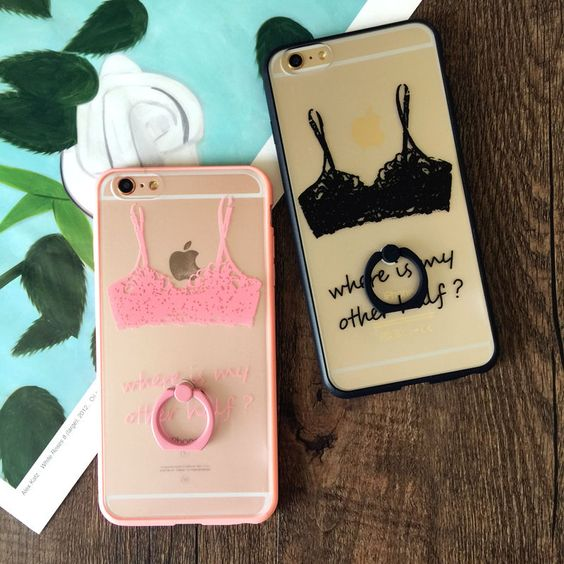Sexy Luxury Vintage Style Lace Bra PC Material Mobile Phone Case for For iPhone 6,6S,6plus,6Splus,7,7plus Holder Back Cover | Phone case for iPhone de 2019 | Pinterest | Capas para telefone e Capas