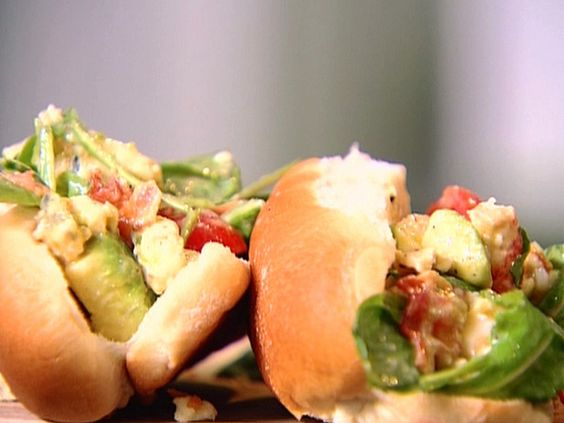 Lobster Cobb Salad Rolls (Food Network)