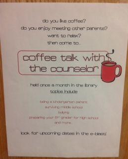 School counseling ideas