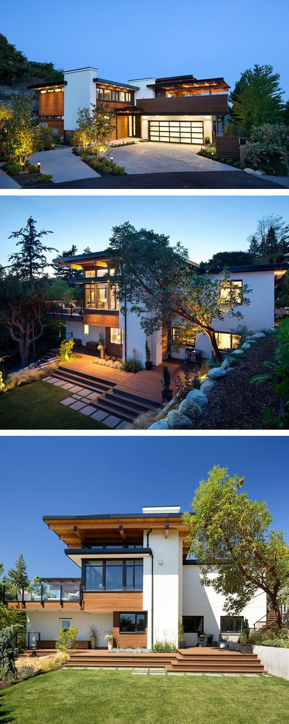 Best 25+ Contemporary homes ideas on Pinterest | Contemporary houses,  Modern contemporary homes and Modern home design