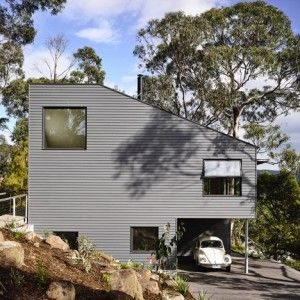 Lorne Hill House is a retirement residence  built among trees on Australia's coastline