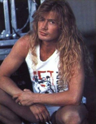 Young Dave Mustaine Pinterest • The worl...