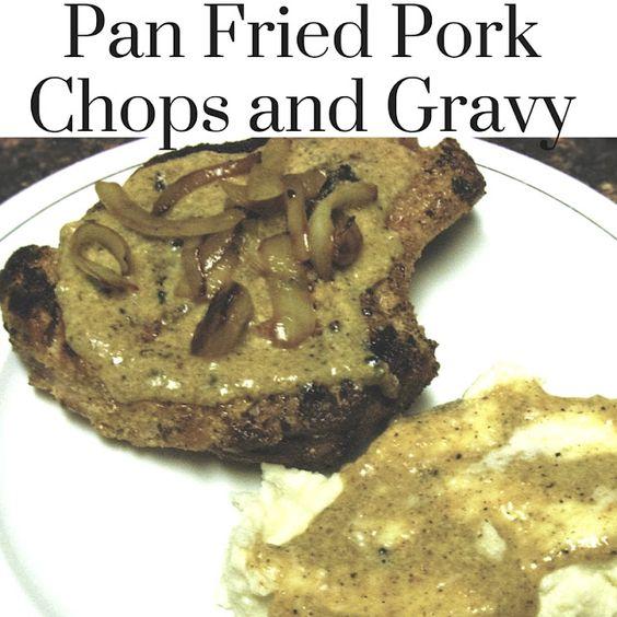 Pork chops, Pork and Pan fried pork chops on Pinterest