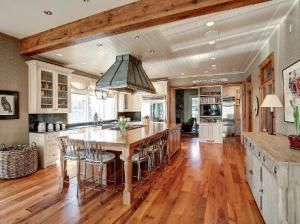 Kitchen View: Rustic Details in Bethesda, Md.