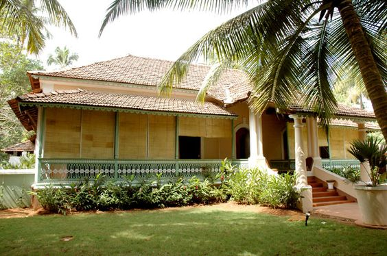 Vivenda dos palha os portuguese manor house goa houses for Architecture design for home in goa