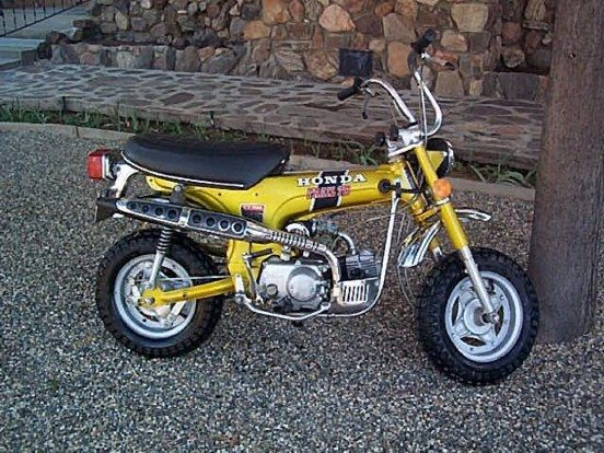 It Was So Hard To Wear These Things Out Lots Of Fun 1973 Honda