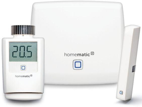 Für die Smart Home-Lösung HomeMatic IP bietet eQ-3 unter anderem einen Heizkörperthermostat und einen Fenstersensor an.