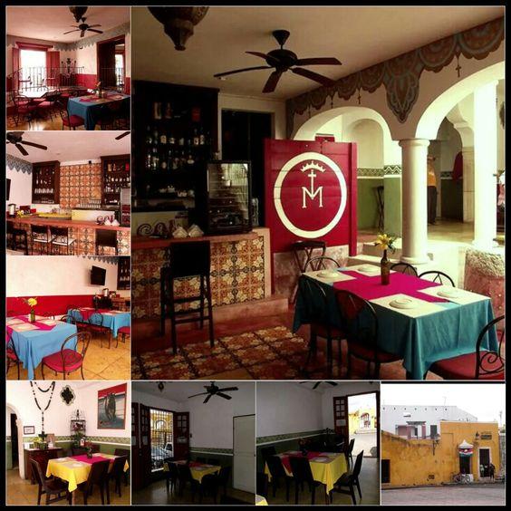 Restaurante de comida yucateca, El Toro en Izamal Yucatán Reserva en aldeamaya@hotmail.com
