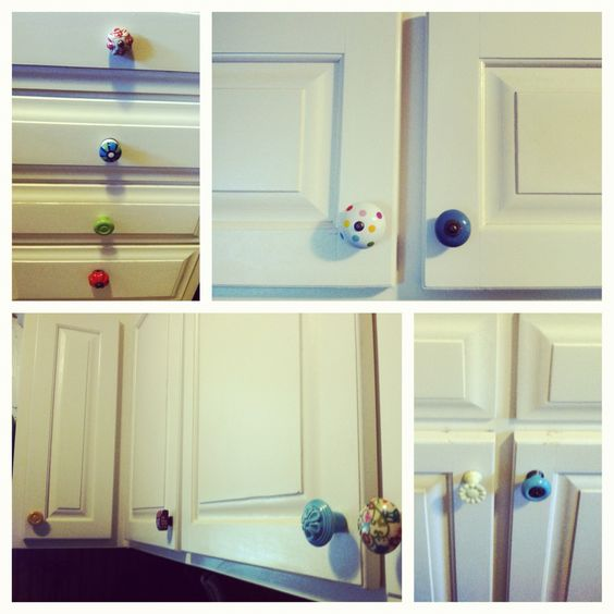 Mismatched Kitchen Cabinets: Knobs, Cabinets And Ideas On Pinterest