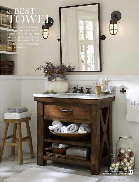 Pottery Barn Bathroom Bathrooms Decor And Powder On Pinterest - Pottery barn mirrors bathroom for bathroom decor ideas