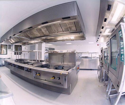 Restaurant Kitchen Interior Design industrial kitchen design colleges decorating suggestions - http