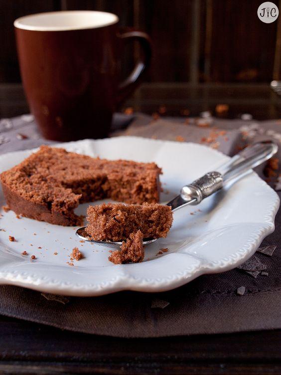 La mezcla ideal de chocolate y café en este loaf cake