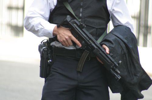 armed gentleman