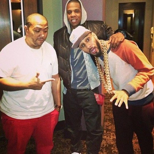 Jay-Z, Swizz Beatz, Timbo in the studio #RichKids