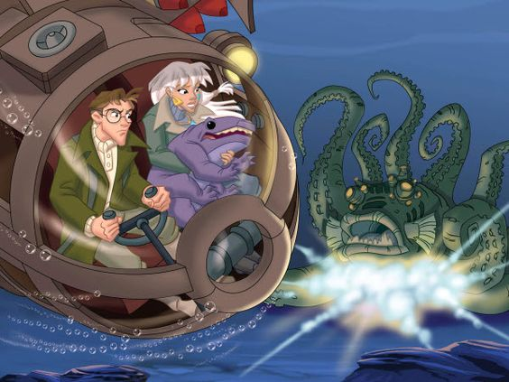disney atlantis milo's return dvd | Atlantis: Milo's Return (2003) - Victor A. Cook,Toby Shelton,Tad ...