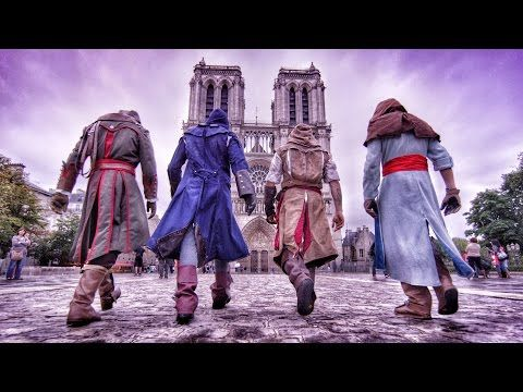 Parkour Assasins Creed Unity - http://www.gam3.es/videojuegos/seccion/videos-gameplay-trailer/cosplay-parkour-assasins-creed-unity-123