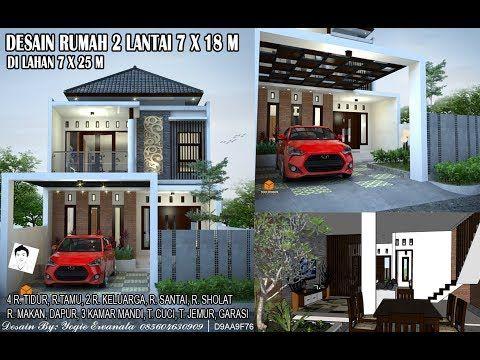 40 Desain Rumah Minimalis 2 Lantai 7 X 12 Terbaru Di 2021 Desain Rumah Desain Rumah 2 Lantai Rumah