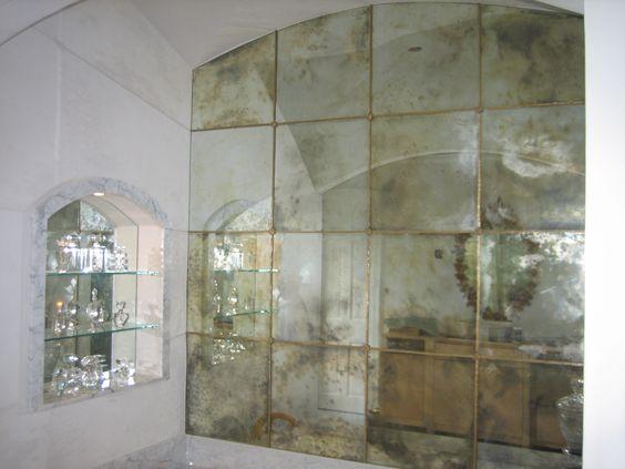 Antiqued Mirror Google Search Antique Mirror Glass Antique Mirror Wall Antique Mirror Tiles