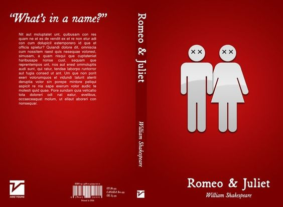 Romeo And Juliet Book Cover Ideas : Simple shakespeare covers mike d antoni awesome and