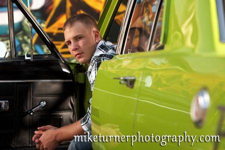 Senior Guy Car