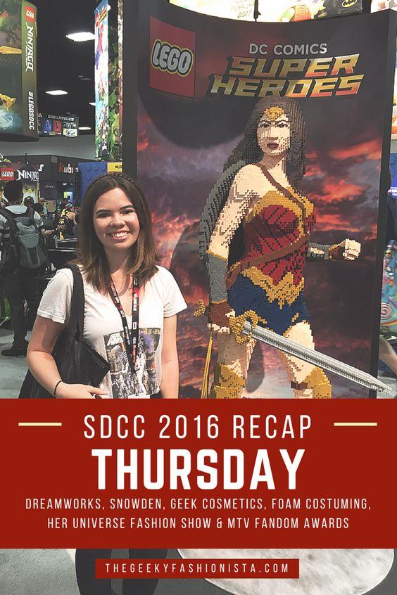 San Diego Comic Con 2016 Thursday Recap