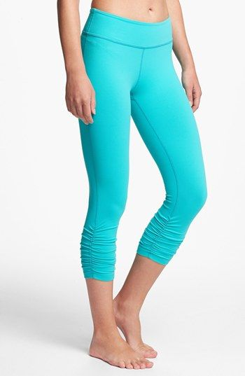 Neon Blue Leggings