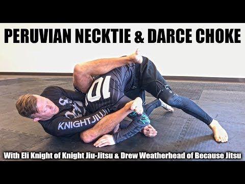 Peruvian Necktie Darce Choke With Because Jitsu Knight Jiu Jitsu Youtube Jiu Jitsu Jiu Jitsu Training Brazilian Jiu Jitsu Training
