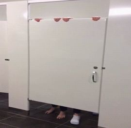 Bathroom Stall Doors And Funny On Pinterest