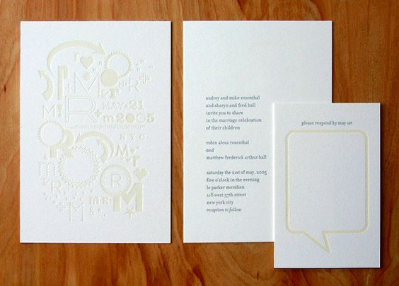 Real Invitations – Robin Rosenthal