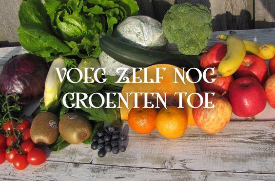 Gezond eten is geen diëten