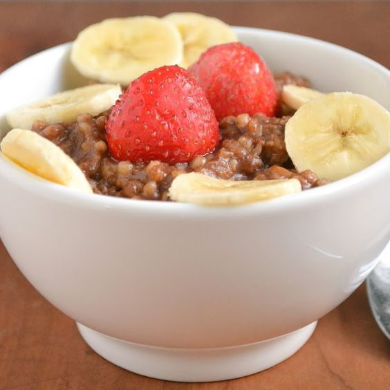 Quick and Healthy Mocha Oatmeal