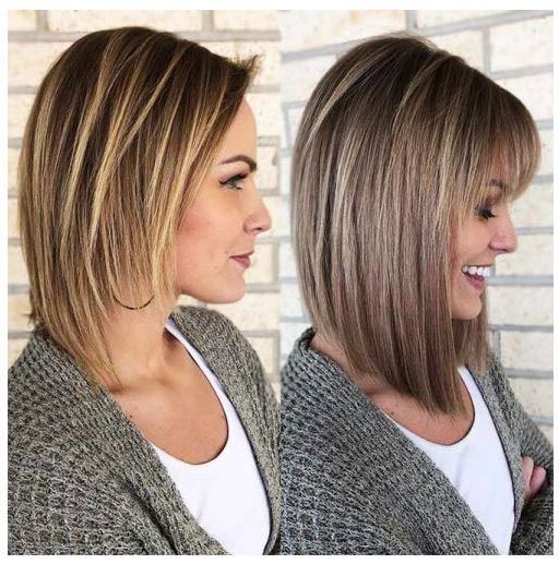 Neueste Bob Frisuren Mit Pony Frisuren Neueste Pony Bob Bobfrisurenmitpony In 2020 Latest Bob Hairstyles Bob Hairstyles With Bangs Long Bob Hairstyles Thin