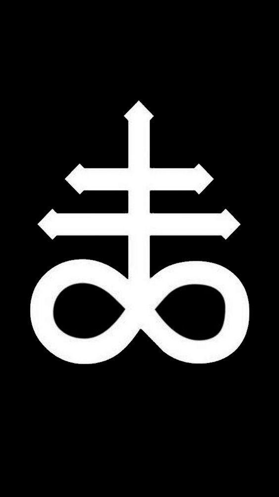 Leviathan Cross Satanic Art Cross Wallpaper Satanic Cross