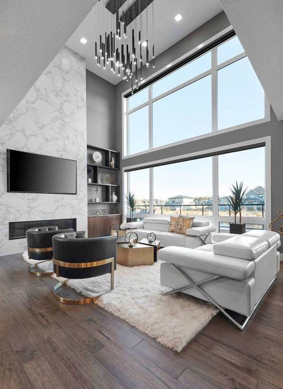 Pin On Living Room Modern house living room designs