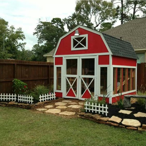 Coops, Chicken Coops And Chicken On Pinterest