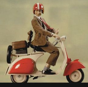Mr Bean On A Motorcycle Hahaha Celebrities And