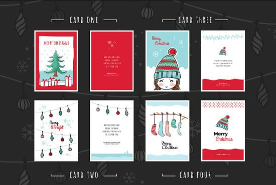 Graphic Design Services Hire A Graphic Designer Today Fiverr Holiday Card Template Christmas Photo Card Template Birthday Card Template Free