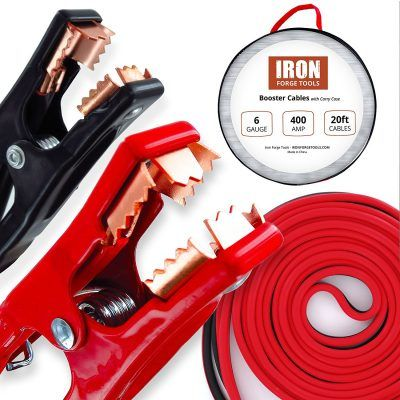 Top 10 Best Jumper Cables In 2020 Reviews Thez7 Tools Forged Iron Car Tools
