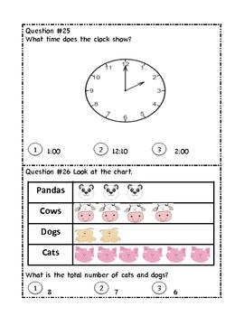 Printables Maths Grade 1 Test Paper grade 1 math test prep standardized testing and sat 10 review review