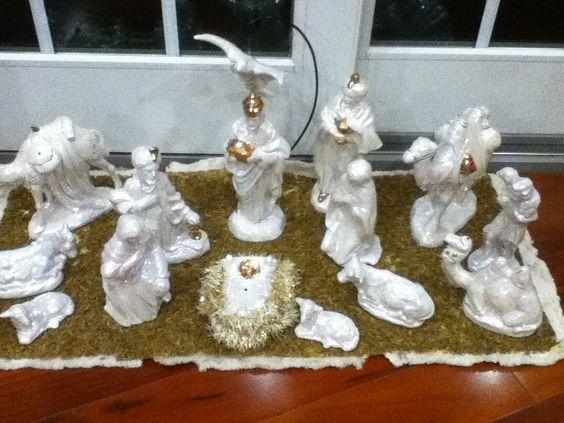 Our nativity set