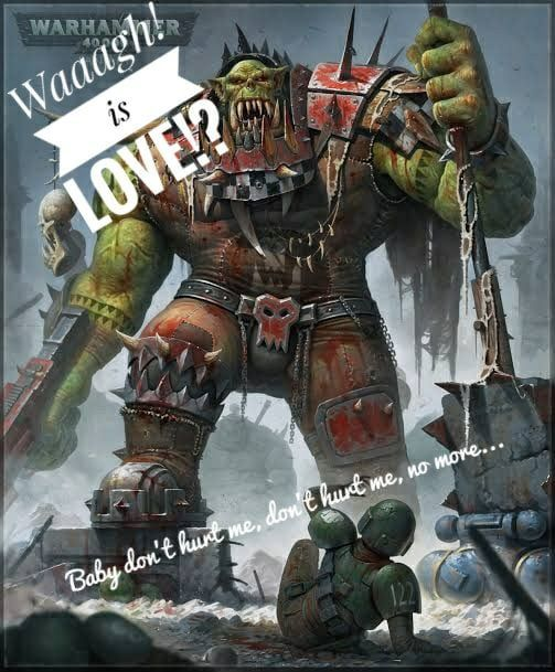 Waaagh My First Contribution For Orktober Warhammer 40k