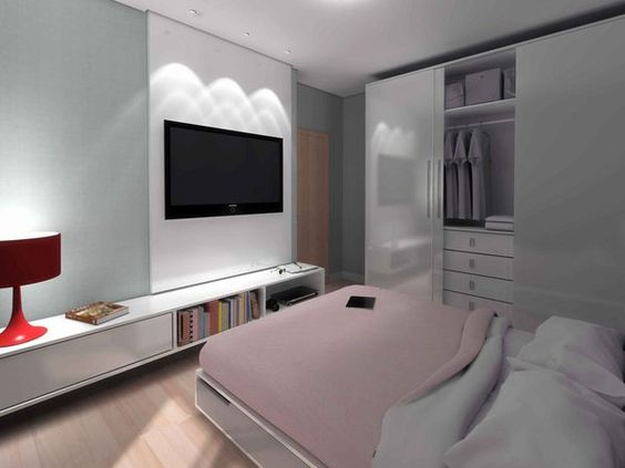 Pinterest the world s catalog of ideas for Small contemporary bedroom