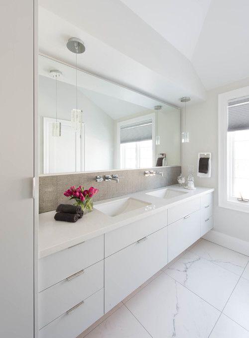 Clean White Bathroom Design Modern White Bathroom Modern Bathroom Design Modern Style Bathroom